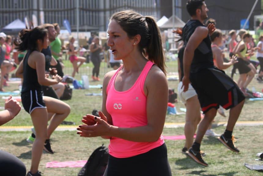 Jamina ist Personal Trainerin mit Leib und Seele