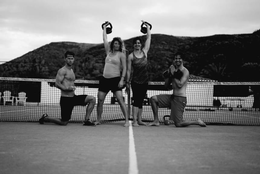 Unsere Trainerherzen bei der Portugal Break