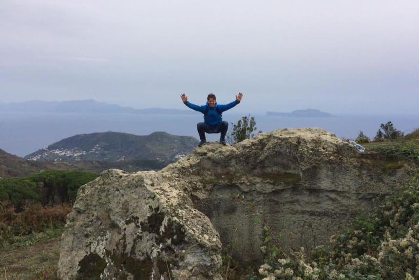 Vittorio Mattera beim Outdoor Training