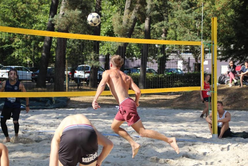 Sport unter freiem Himmel