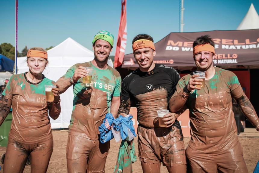 Mit dem Bootcamp Team beim Tough Mudder