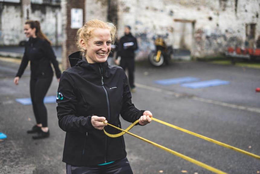 Personal Training mit einem Lächeln