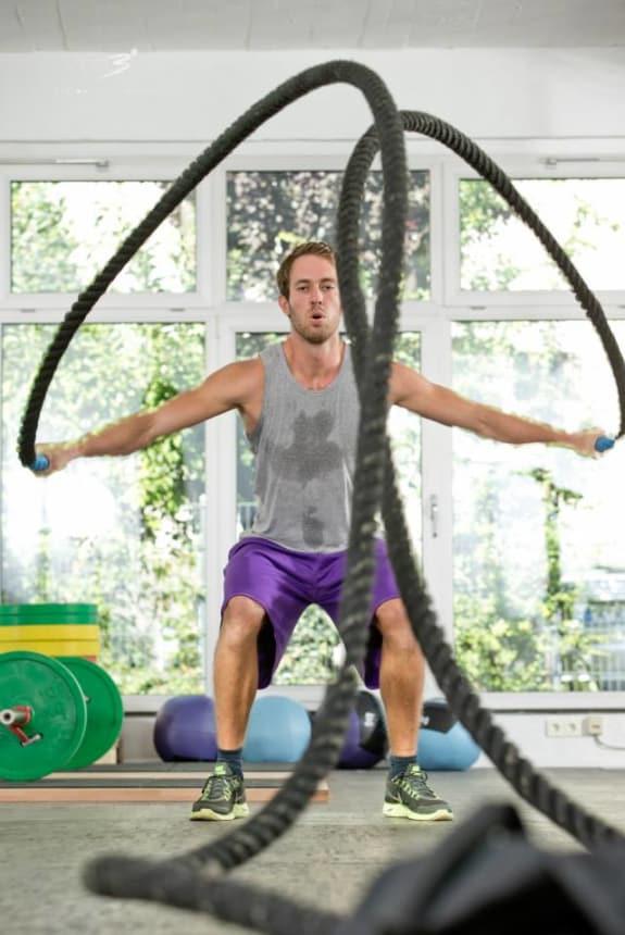 Felix Felder Spaß am Training