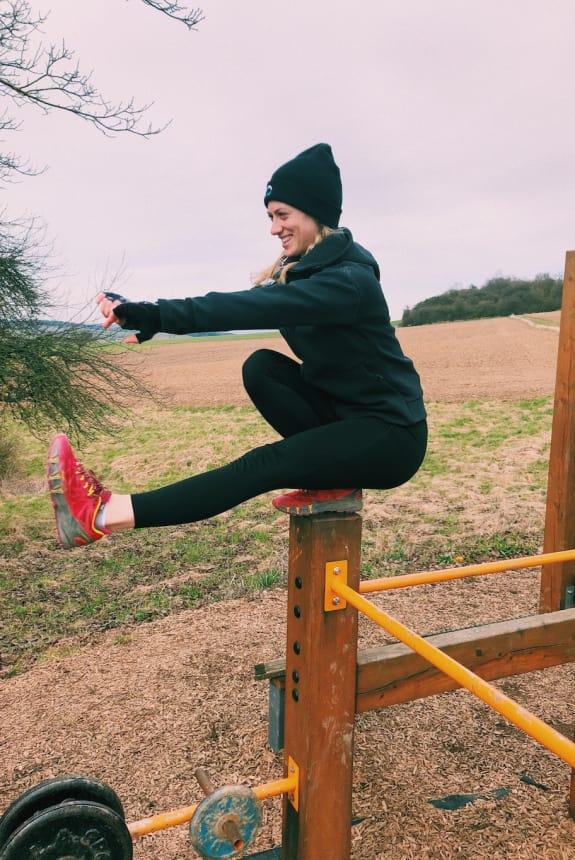 Liebe zum Outdoor Training