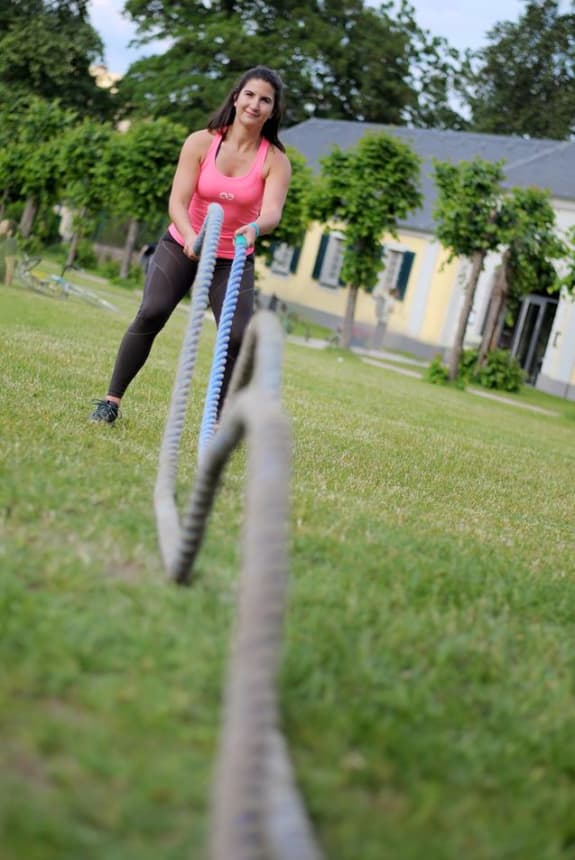 Funktionelles Training in der Natur