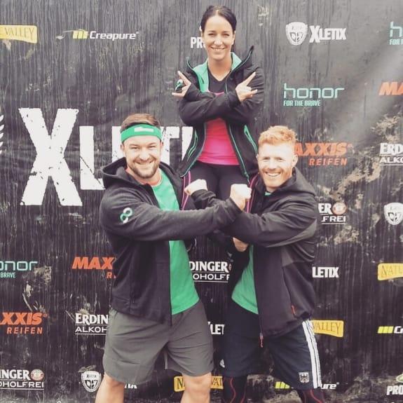 Bootcamp trainer beim XLETIX Lauf