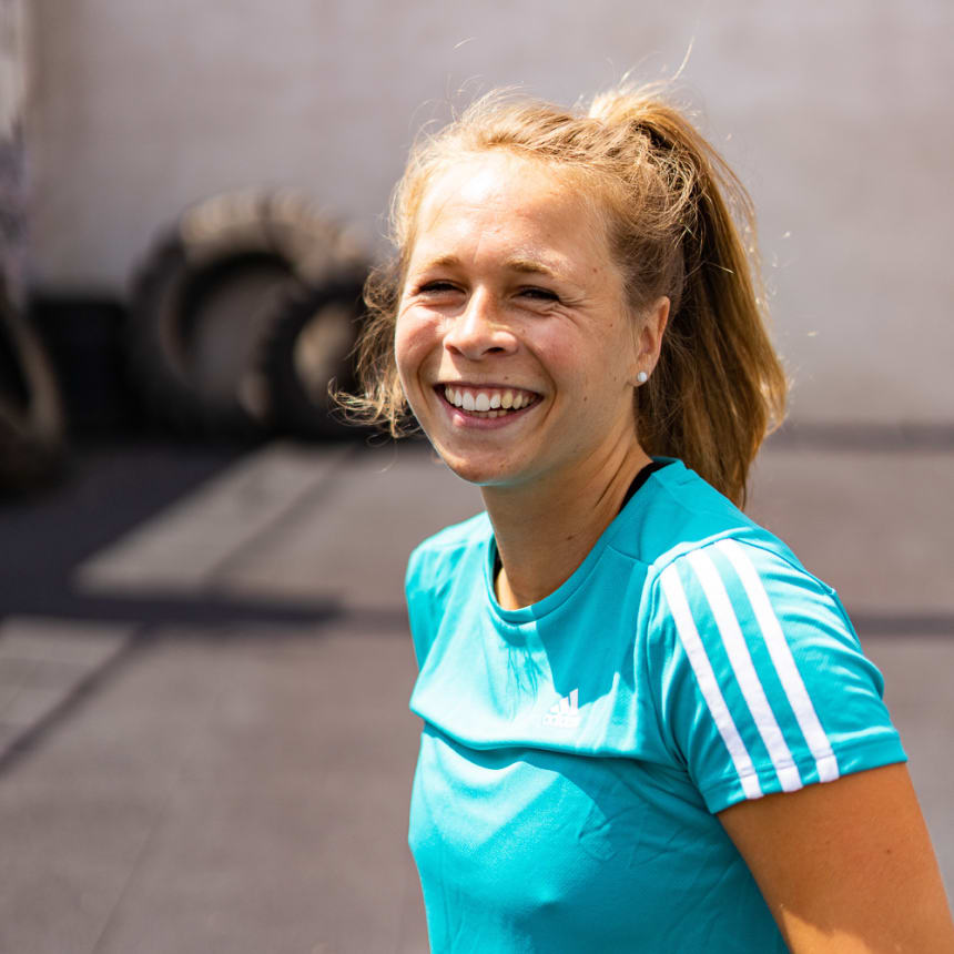 Sweat and smile!