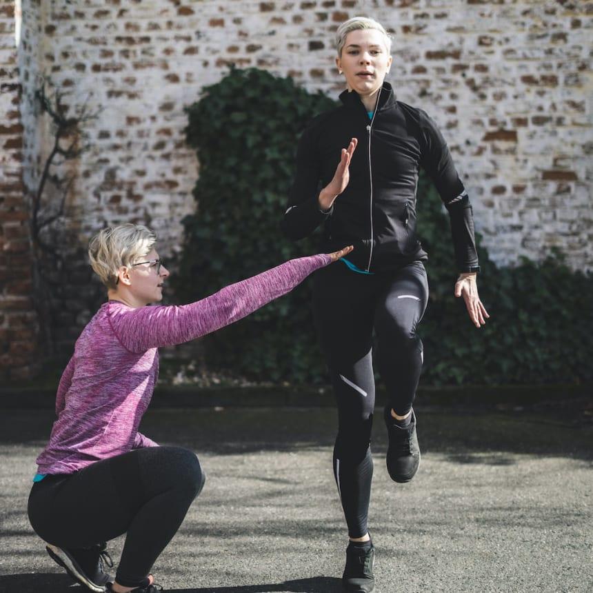 Personal Trainerin mit Leib und Seele