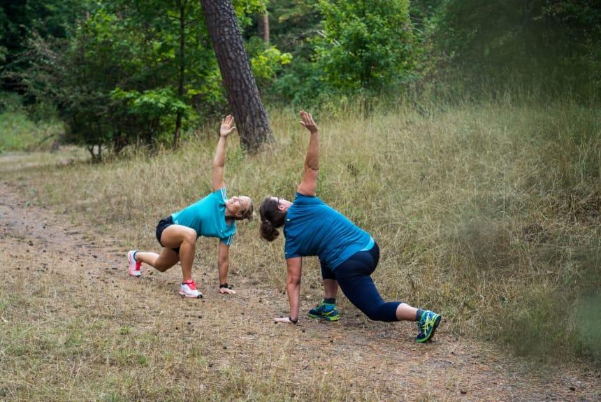 Outdoor Fitness mit Marie
