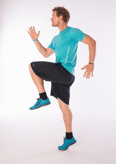 Kniehebelläufe - Schnelligkeit trainieren