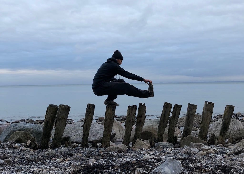 Daniel Reitemeyer am Meer