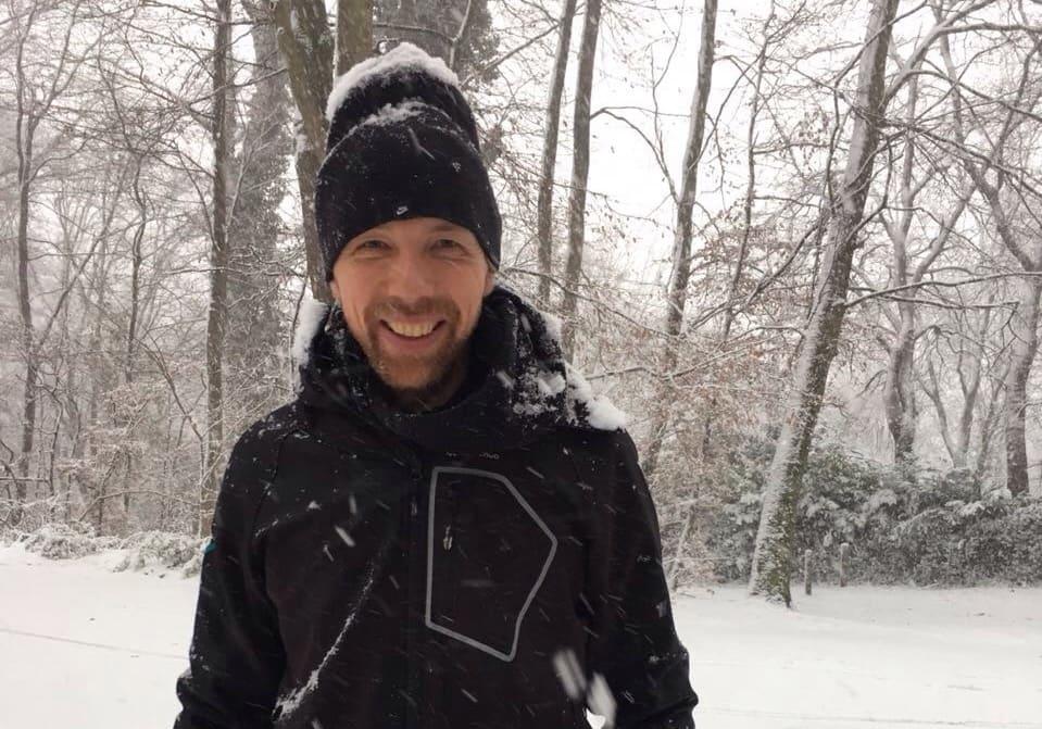 Daniel Reitemeyer liebt es draußen zu sein