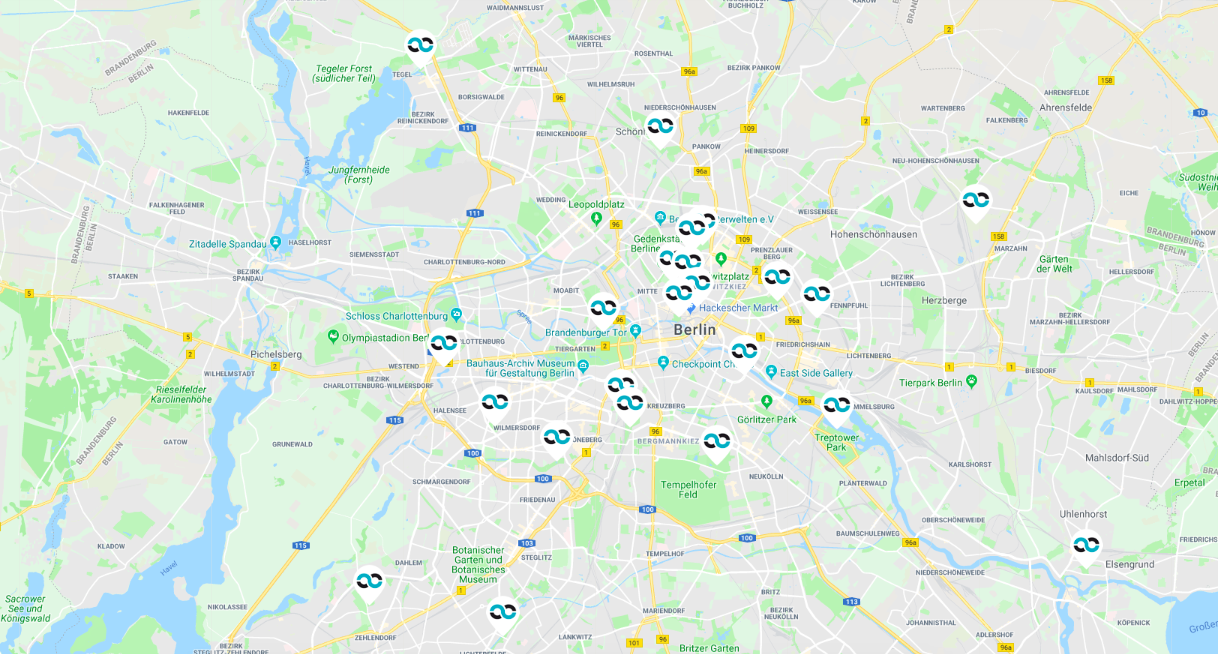 Bootcamp Fitness Locations Berlin