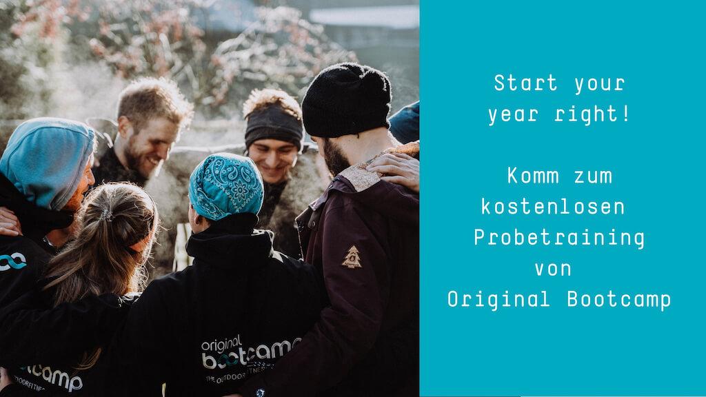 kostenloses Training Original Bootcamp Outdoor Fitness