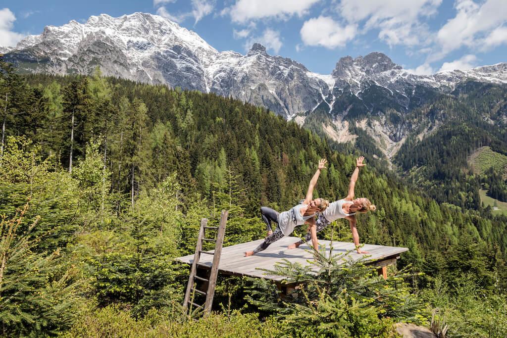 Outdoor Fitness in Österreich