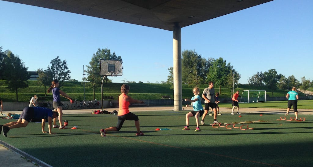 Alternativ zum Fitnessstudio in Potsdam an der frischen Luft