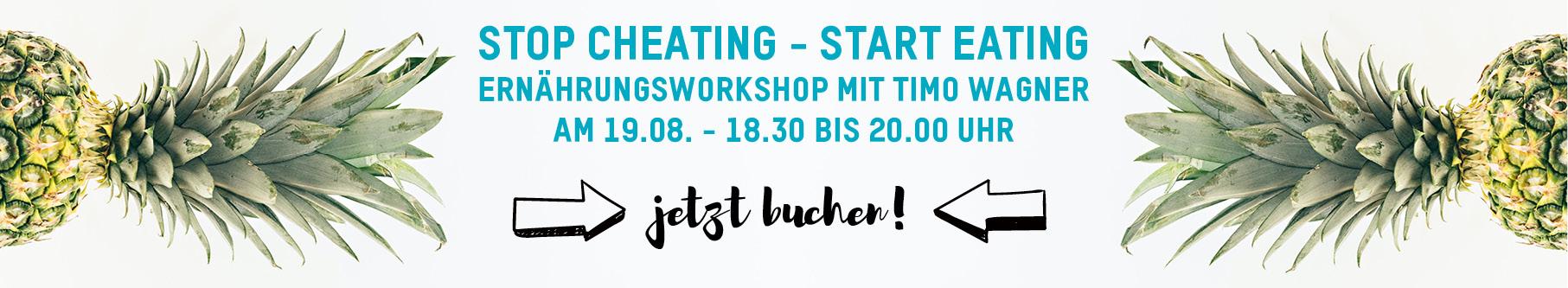 Ernährungsworkshop mit Timo Wagner Intermittierendes Fasten