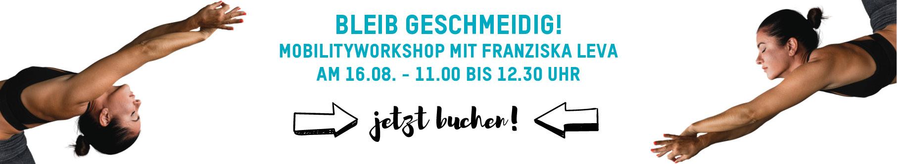 Mobility Workshop mit Personal Trainer Franziska Leva