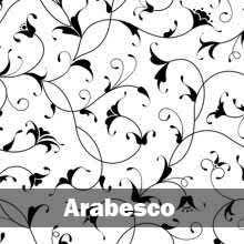 papel de parede arabesco