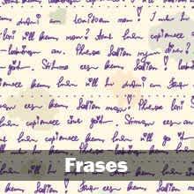 papel de parede frases