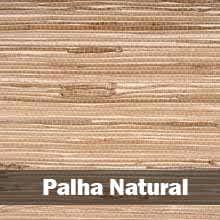 papel de parede palha natural