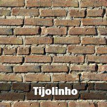papel de parede tijolinho