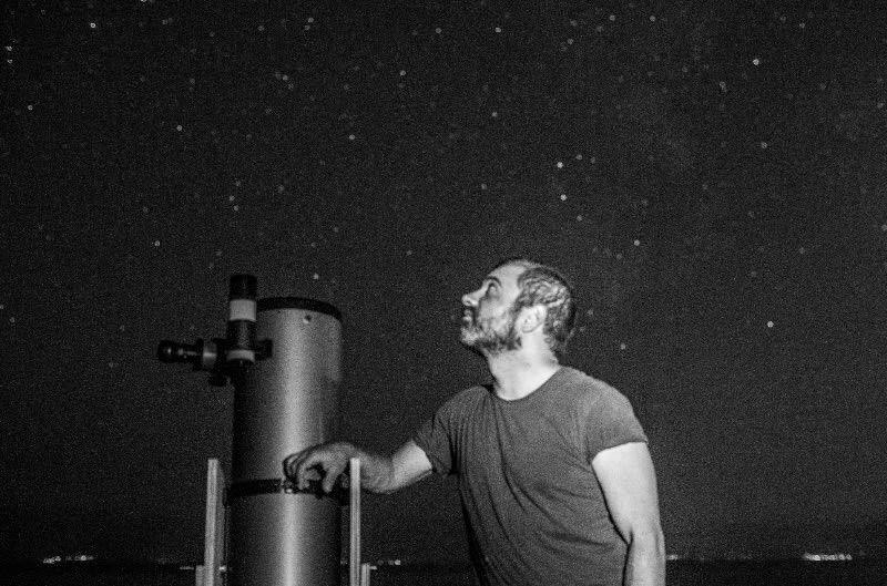 A stargazing night to remember at Iria, Greece
