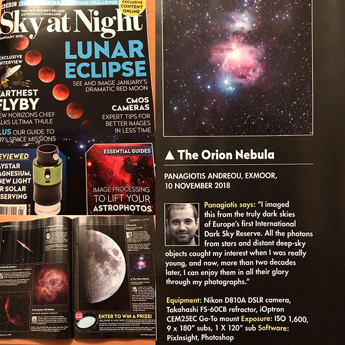 BBC - The Sky At Night, January 2019 Issue