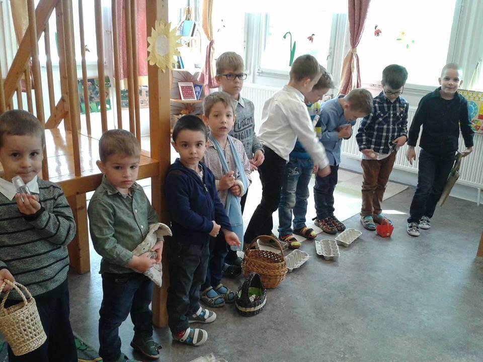 Húsvét az Örömhír Óvodában - Örömhír Óvoda Veszprém