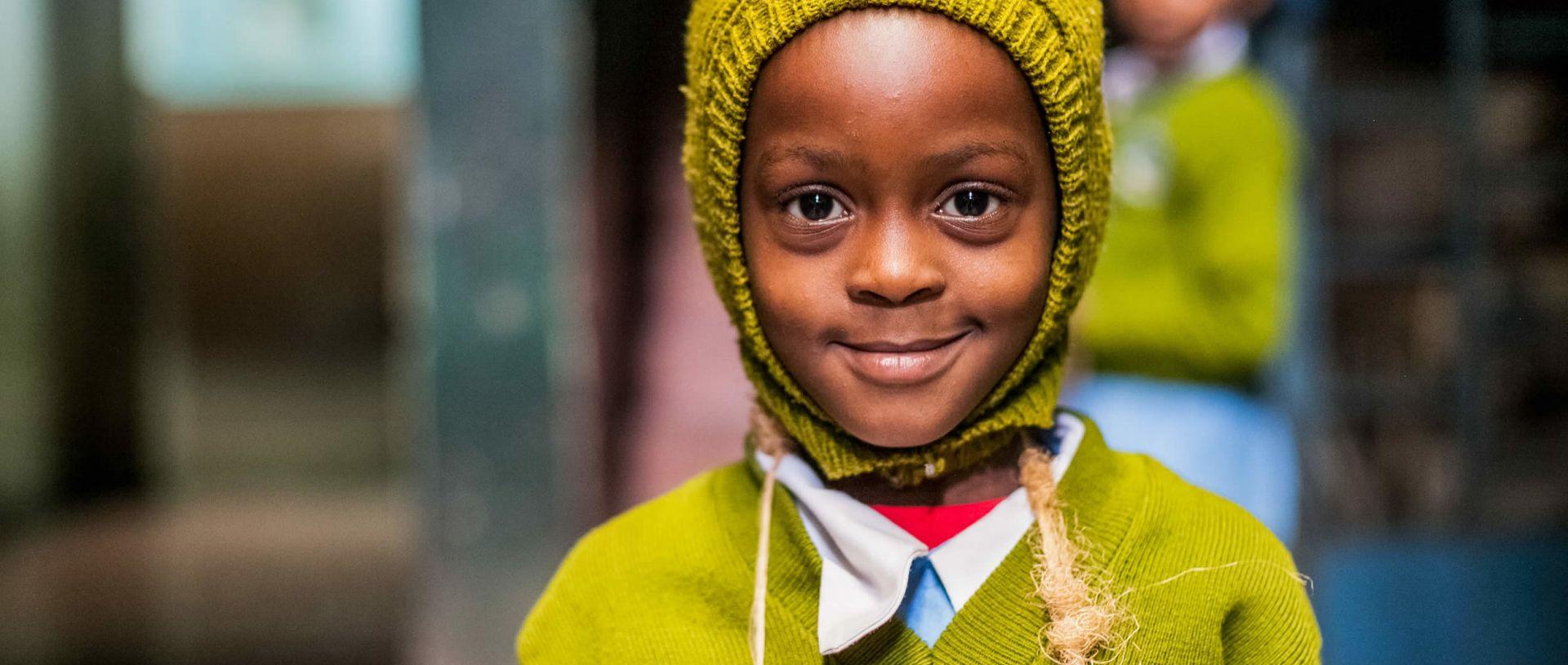 hope in the slums of Nairobi banner