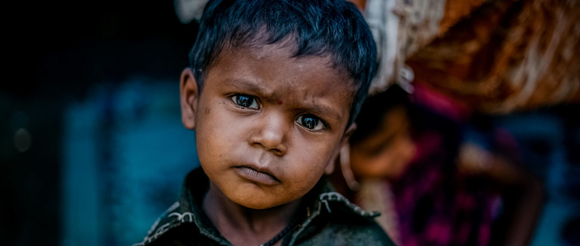 education unlocks the future for children in India banner