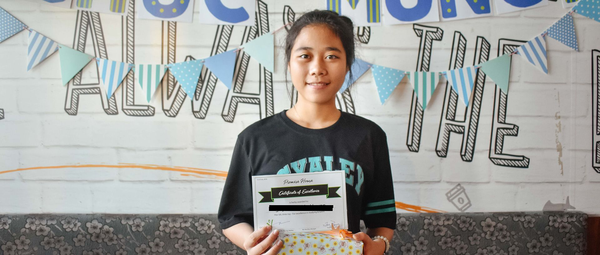 Huyen finds success at Promise House banner