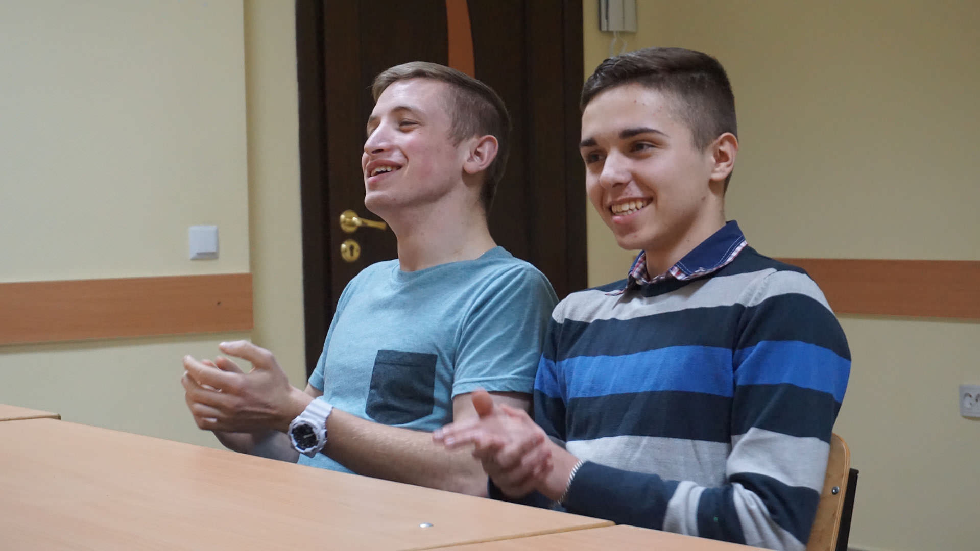 Stepan with friend | Orphan's Promise