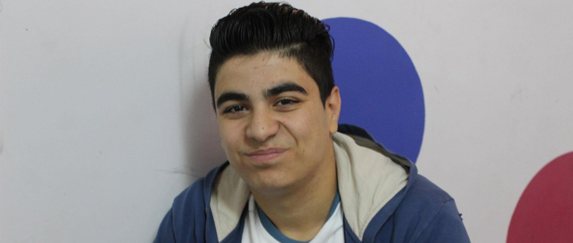 Ahmad starts a new life in Jordan banner
