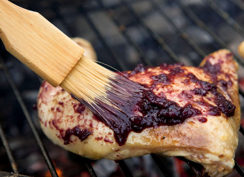 Grilled Chicken With Blueberry Barbecue Sauce Kosher Recipes Ou Kosher Certification