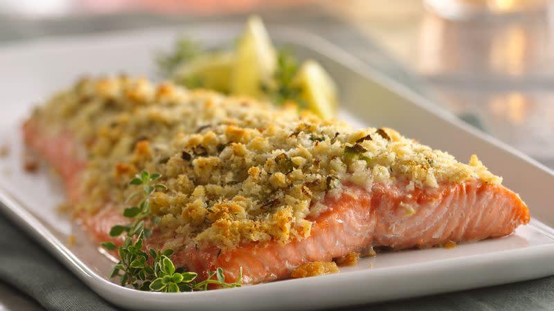 Parmesan Pecan Salmon