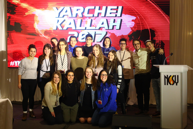 Teens at Yarchei Kallah