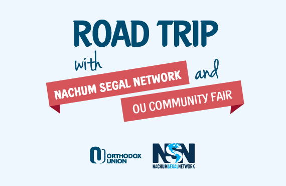 Road Trip with Nachum Segal Network