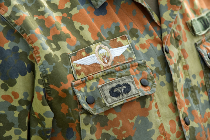 The Paratrooper Pin