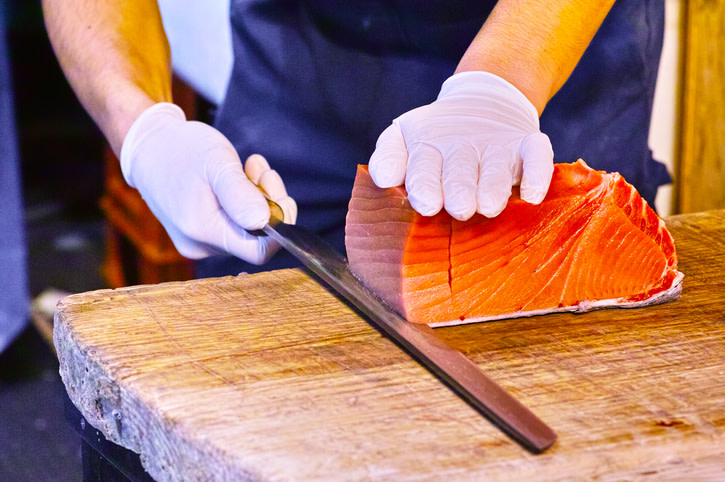 Tuna Poke and Market Fish Ceviche