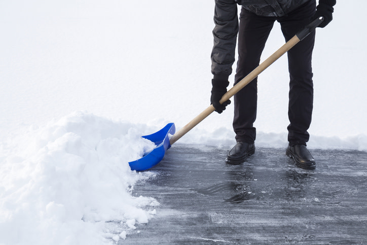 Removing Ice and Snow on Shabbos