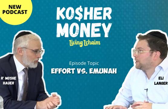 Rabbi Hauer Featured on the Kosher Money Podcast