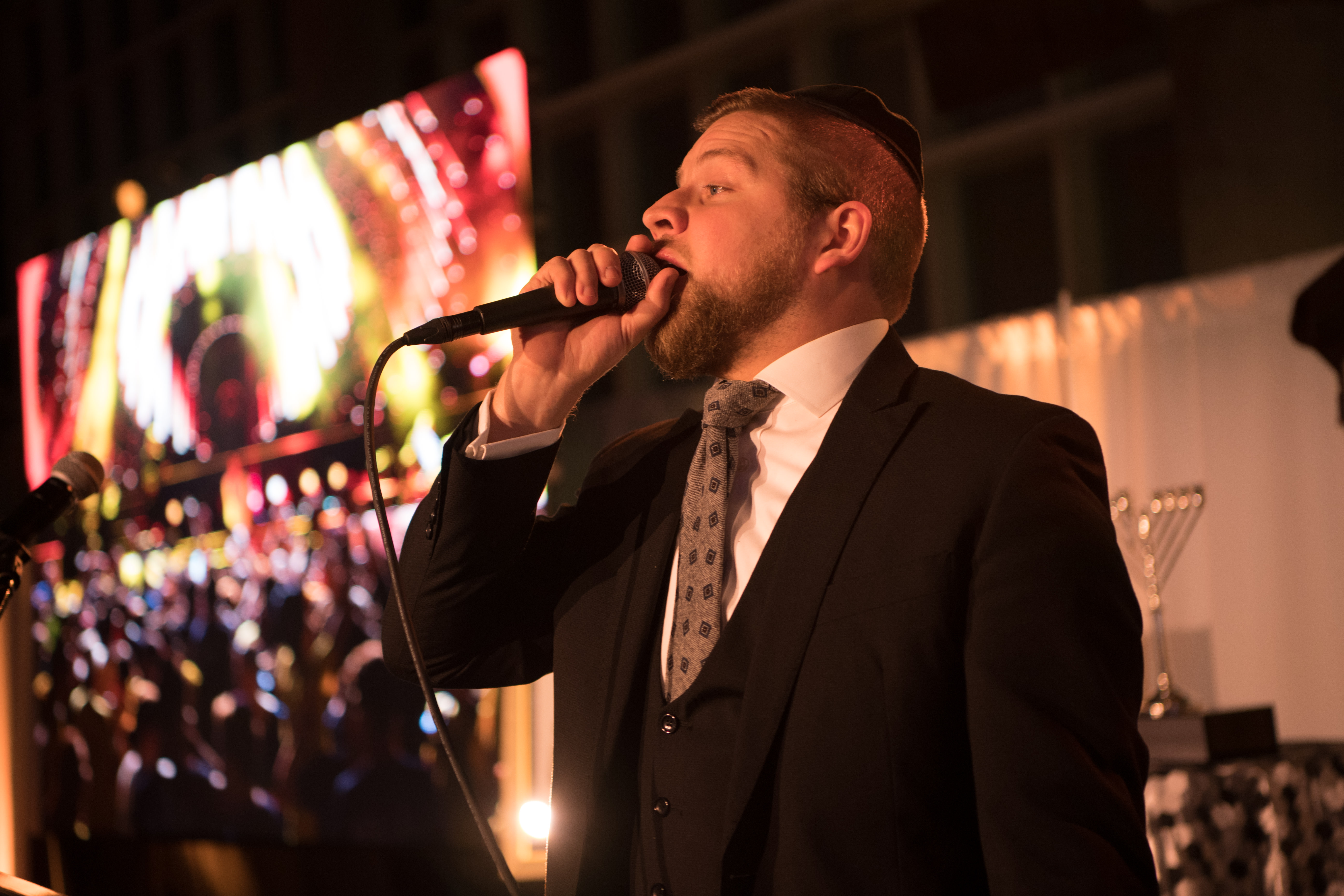 Mordecai Shapiro at the NCSY Gala