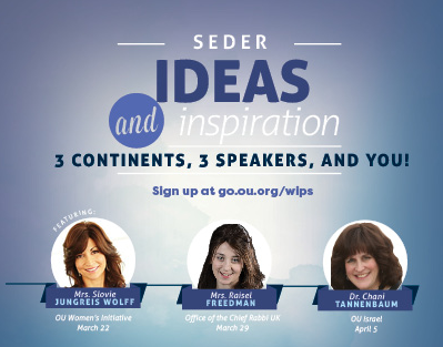 Seder Ideas and Inspiration