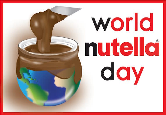 Celebrate World Nutella Day