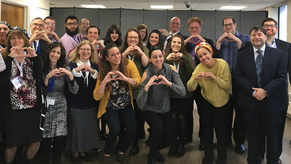 CVS, Other Partners, Join Yachad Staff for Hands-On Training Workshop