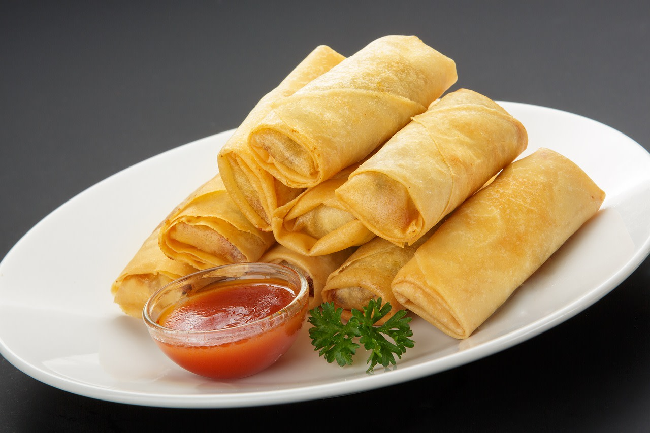 Four Uses for Spring Roll Wrappers