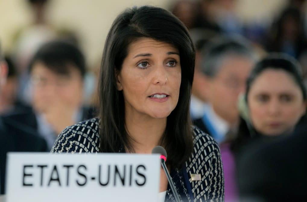 OU Thanks Nikki Haley for Her Service
