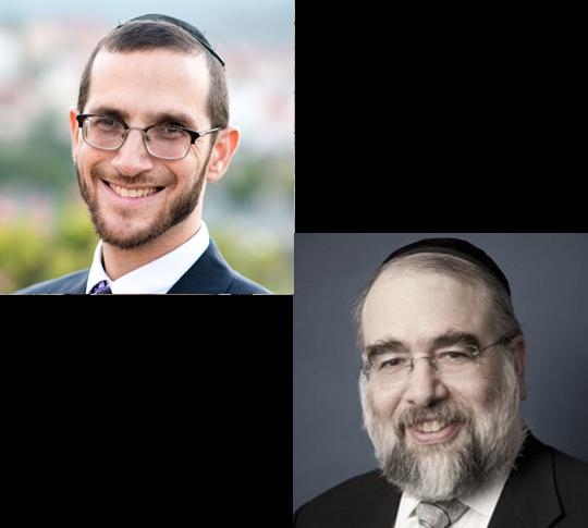 Rabbi Rosner and Rabbi Elefant