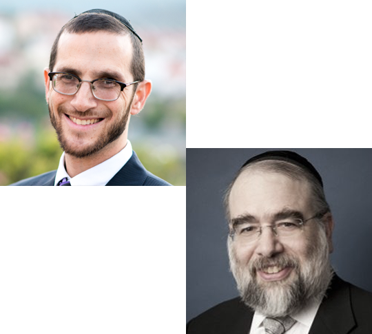 Rabbi Rosner and Rabbi Elefant